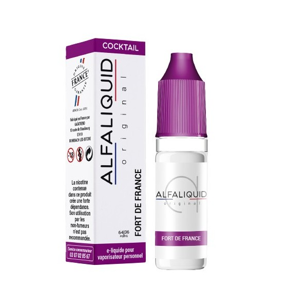 E-Liquide Alfaliquid Fort de France