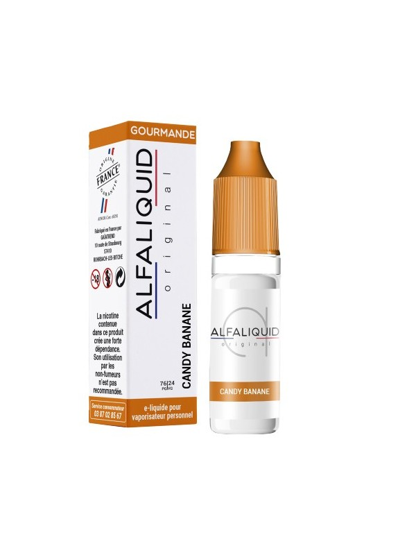 E-Liquide Alfaliquid Candy Banane