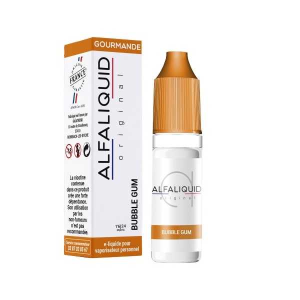 E-Liquide Alfaliquid Bubble Gum