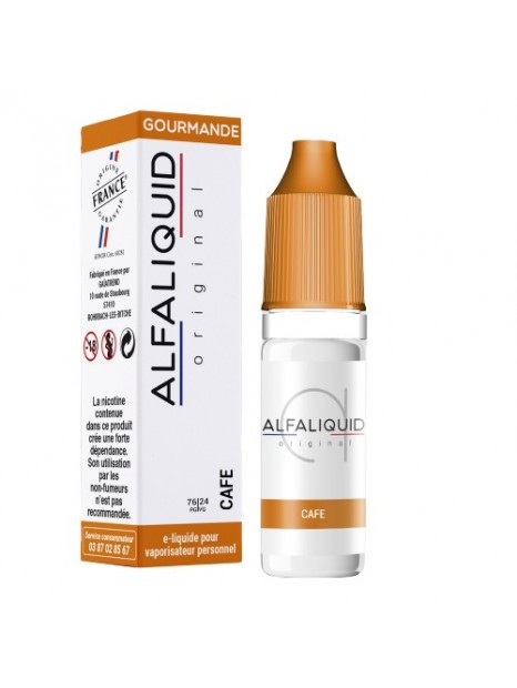 E-Liquide Alfaliquid Café