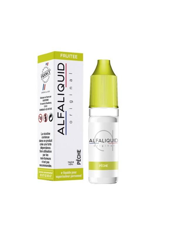 E-Liquide Alfaliquid Pêche