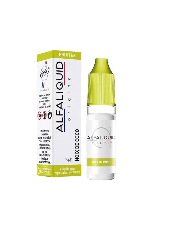 E-Liquide Alfaliquid Noix de Coco