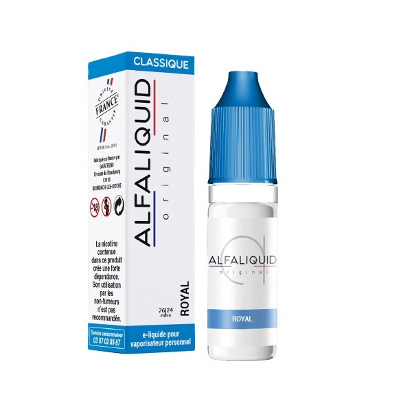 E-Liquide Alfaliquid Royal