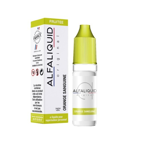 E-Liquide Alfaliquid Orange Sanguine