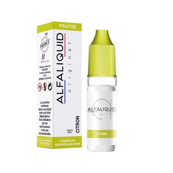 E-Liquide Alfaliquid Citron