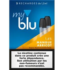Capsules Blu Myblu Mangue Abricot