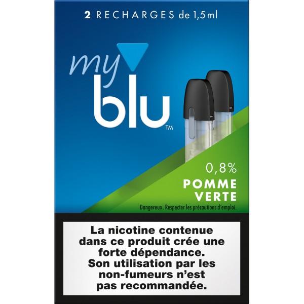 Capsules Blu Myblu Pomme Verte