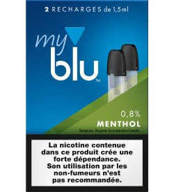 Capsules Blu Myblu Menthol