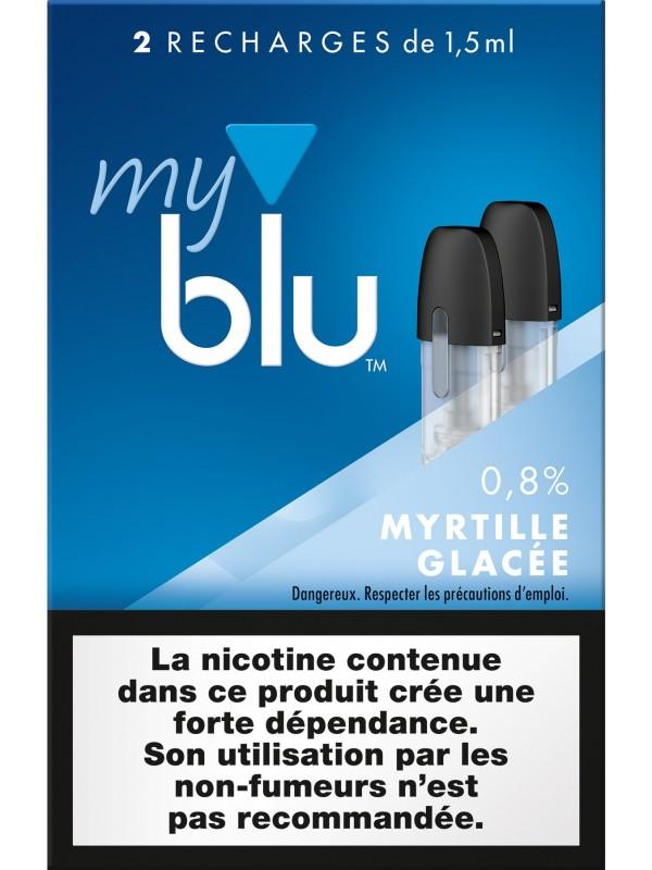 Capsules Blu Myblu Myrtille Glacée