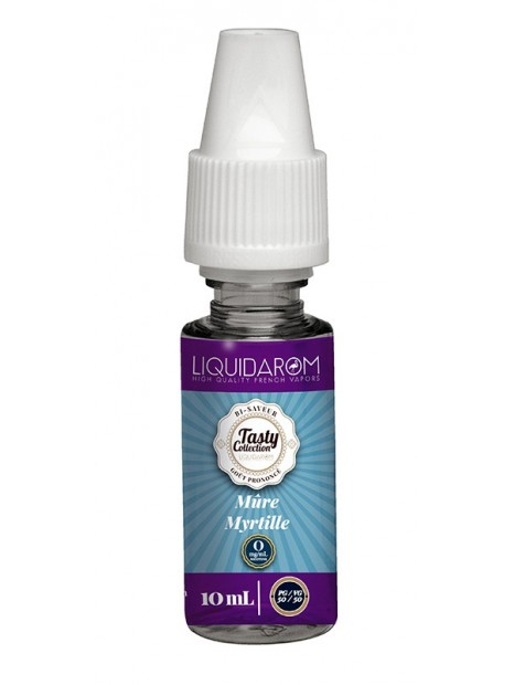 E-Liquide Liquidarom Tasty Collection Mure Myrtille