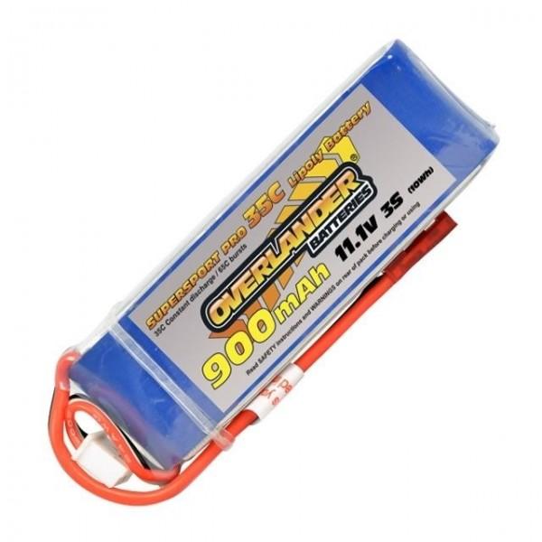 Pile Overlander Supersport Pro 900mAh 11.1V 35C