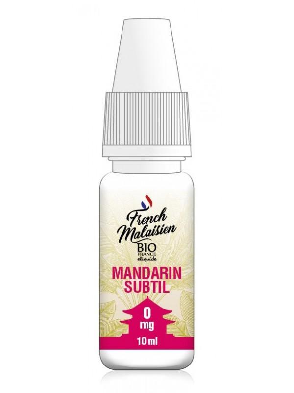 E-Liquide French Malaisien Mandarin Subtil