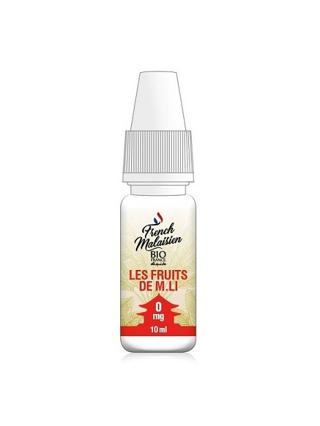 E-Liquide French Malaisien Les Fruits de M.Li