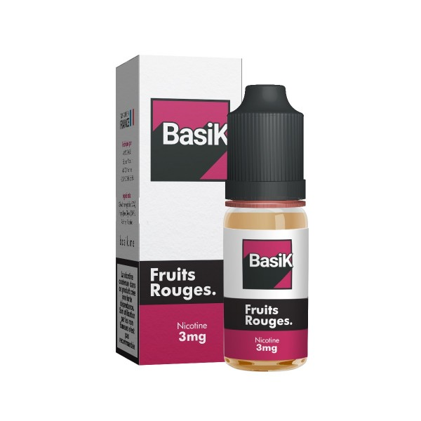 Sel de Nicotine Basik Fruits Rouges