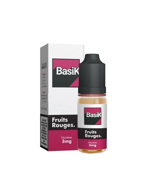 Sel de Nicotine Basik Fruits Rouges