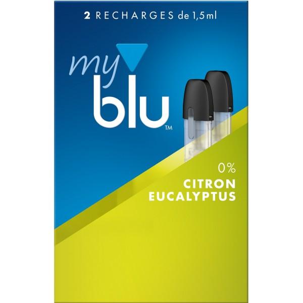 Capsules Blu Myblu Citron Eucalyptus