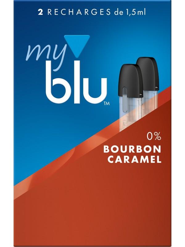 Capsules Blu Myblu Bourbon Caramel