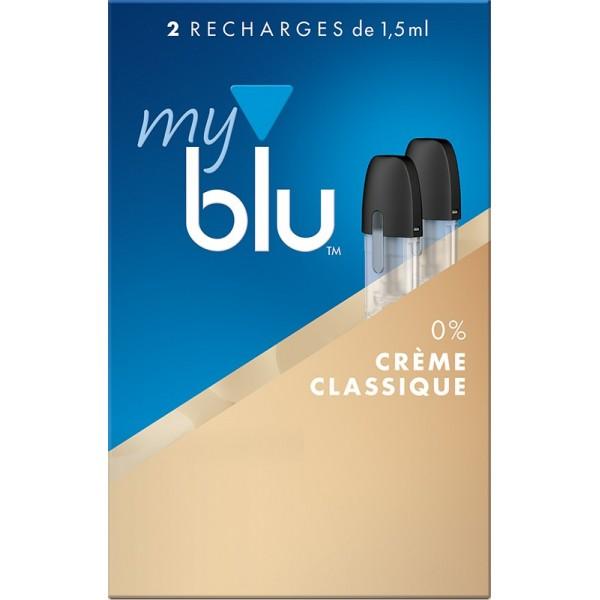 Capsules Blu Myblu Crème Classique