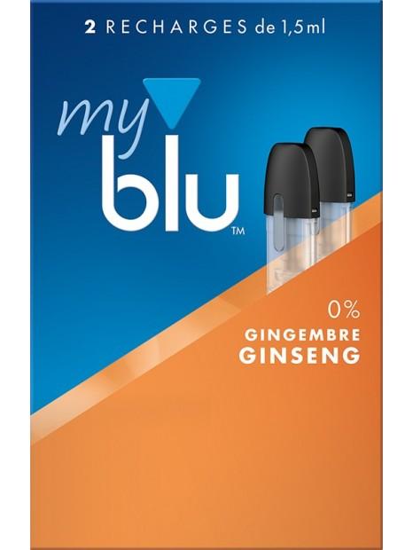 Capsules Blu Myblu Gingembre Ginseng
