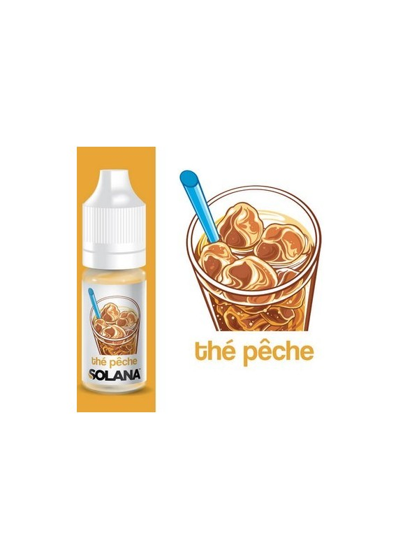 E-Liquide Solana Thé Pêche