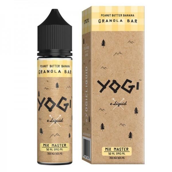 E-Liquide Yogi Peanut Butter Banana 50mL