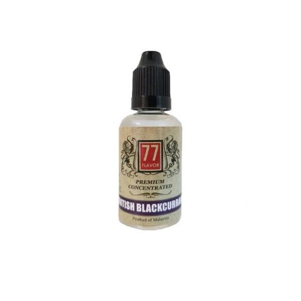 Concentré 77 Flavor British Blackcurrant 30mL