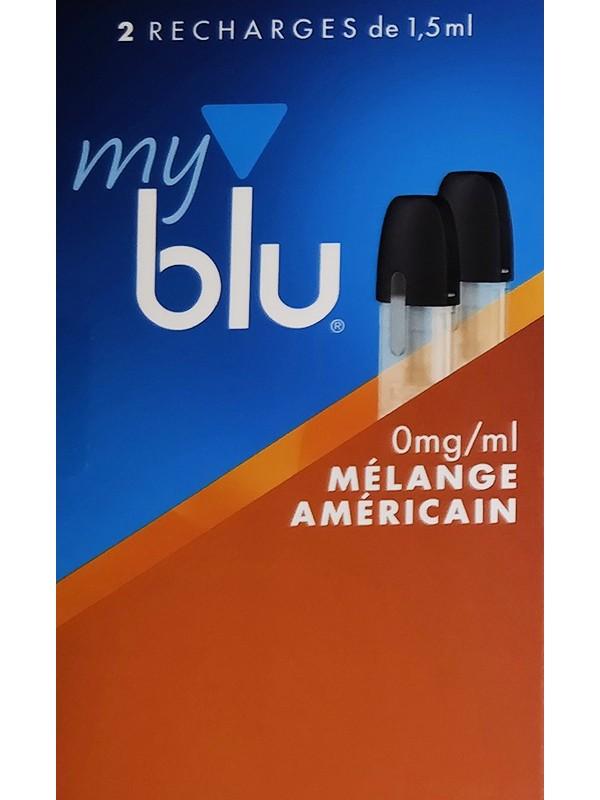 Capsules Blu Myblu Mélange Américain