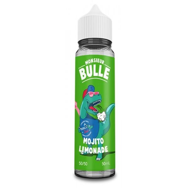 E-Liquide Monsieur Bulle Mojito Limonade 50mL