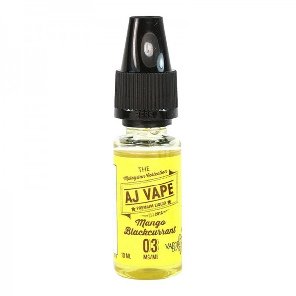 E-Liquide AJ Vape Mango Blackcurrant