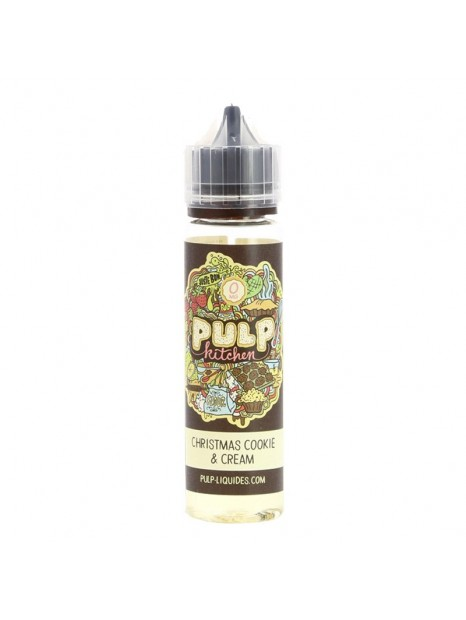 E-Liquide Pulp Christmas Cookie And Cream 50mL