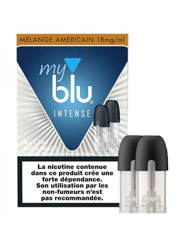 Capsules Blu Myblu Intense Mélange Américain