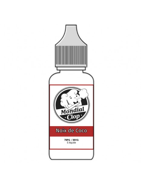 E-Liquide Mondial Clop Noix de Coco
