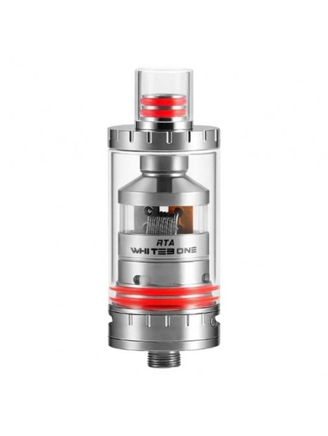 Atomiseur Oumier Whitebone RTA Rouge