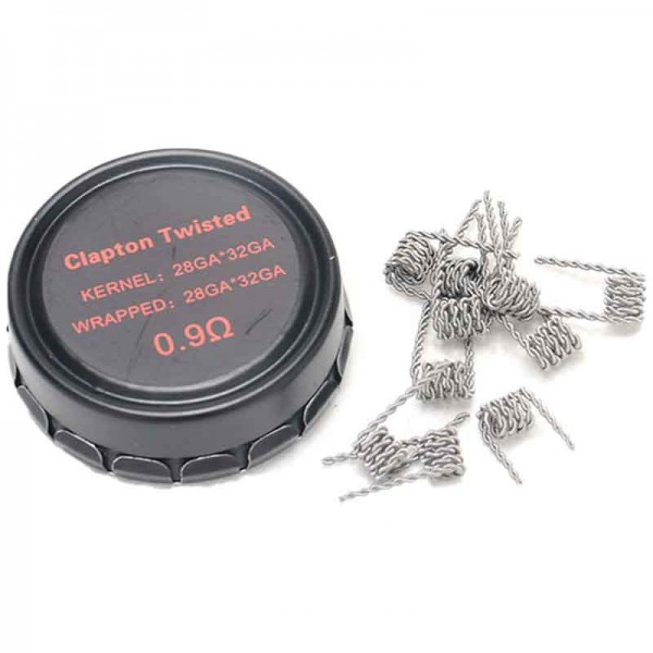 Coil VPDam Clapton Twisted Wire 0.9 Ohm