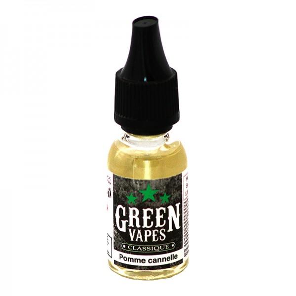 E-Liquide Green Vapes Pomme Cannelle
