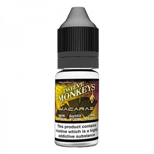 E-Liquide Twelve Monkeys Macaraz