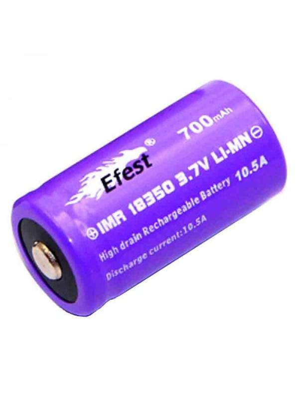 Accu 18350 EFEST 700mAh Purple 10.5A