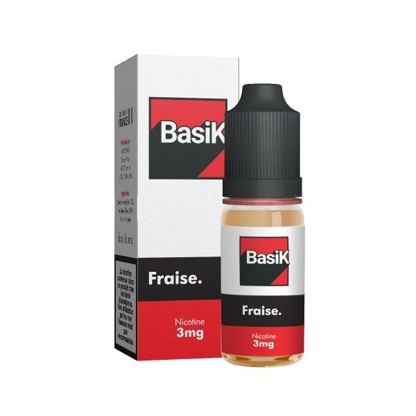 E-Liquide Basik Fraise