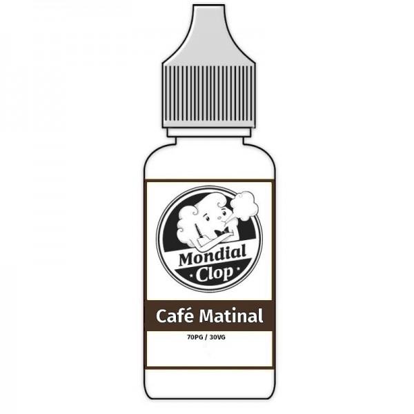 E-Liquide Mondial Clop Café Matinal