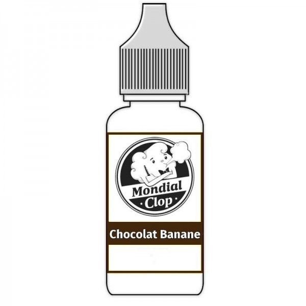 E-Liquide Mondial Clop Chocolat Banane