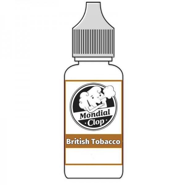 E-Liquide Mondial Clop British Tobacco