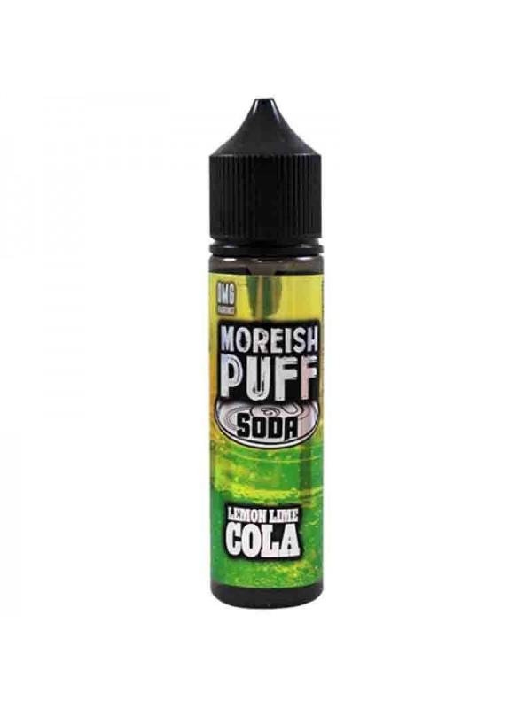 E-Liquide Moreish Puff Soda Lemon Lime Cola 50mL